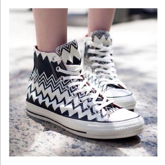 5a2f380f5b Converse Shoes | Missoni Collab Hi Tops | Poshmark